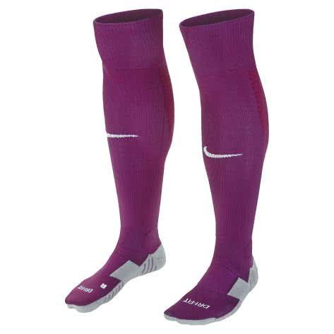 Nike Stutzen Team MatchFit OTC Football Socks SX5730 Dynamic Berry/Noble Red/White Größe: 38-42,42-46