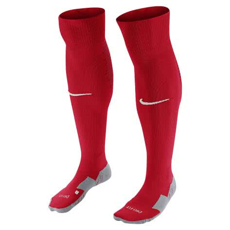 Nike Stutzen Team MatchFit OTC Football Socks SX5730 University Red/Gym Red/White Größe: 42-46
