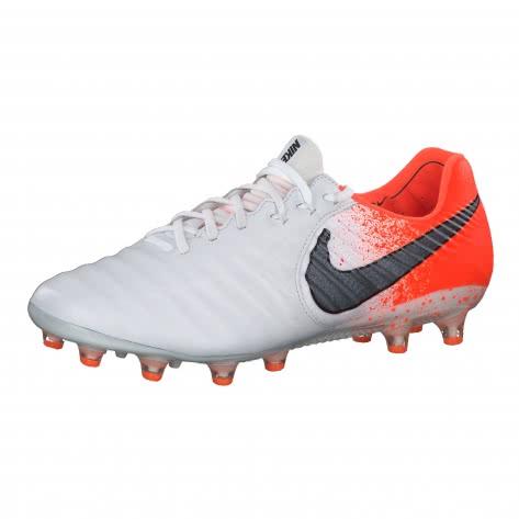 Nike Herren Fussballschuhe Tiempo Legend VII Elite AG-Pro AH7423-118 40 White/Black-Hyper Crimson | 40