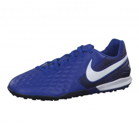 Nike Herren Fussballschuhe Tiempo Legend VIII Pro TF AT6136-414 47.5 Hyper Royal/White-Deep Royal Blue | 47.5