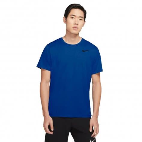 Nike Herren Trainingsshirt Top S/S Hpr Dry CJ4611