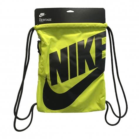 Nike Turnbeutel Heritage Gym Sack BA5351-344 Bright Cactus/Black/Black   One size