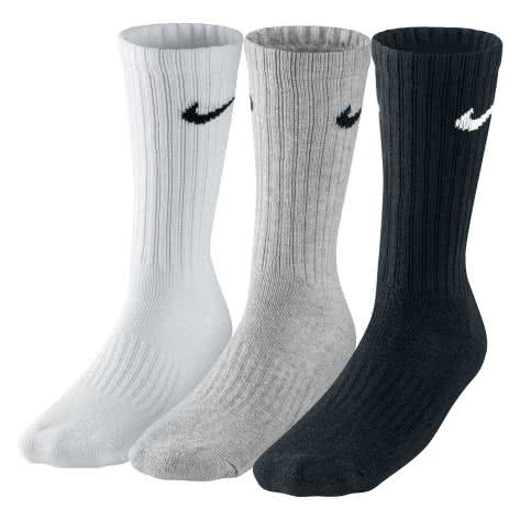 Nike Value Cotton Socken 3er Pack SX4508