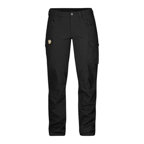 Fjällräven Damen Hose Nikka Trousers 89236-550 34-Long Black | 34-Long