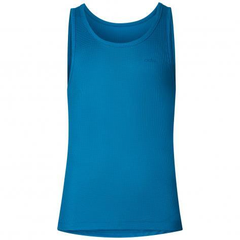 Odlo Herren Singlet CUBIC 140292 blue jewel - blue atoll Größe: M