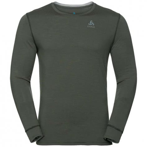 Odlo Herren Funktionsshirt SUW Top Crew Neck L/S Warm 110812