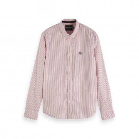 Scotch & Soda Herren Langarm Hemd Classic Oxford Shirt 152151