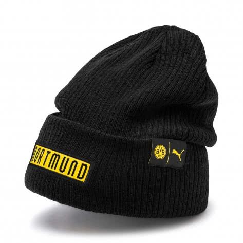 Puma Borussia Dortmund Mütze BVB FtblCulture Bronx Beanie 022475-02 Puma Black-Cyber Yellow | One size