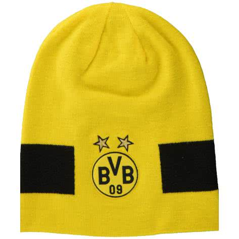 Puma BVB Borussia Dortmund Mütze BVB Performance Beanie 021037 Cyber Yellow-Puma Black Größe: One size