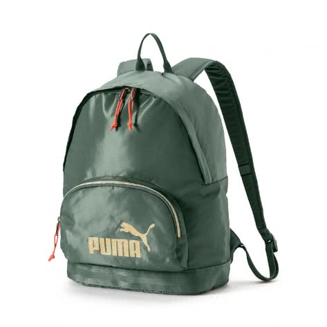 Puma Damen Rucksack Core Backpack Seasonal 075397-02 One size Laurel Wreath-Gold | One size