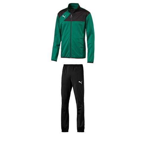 Puma Kinder Trainingsanzug Esquadra 654383 653974 power green black Größe   140,   152,   176