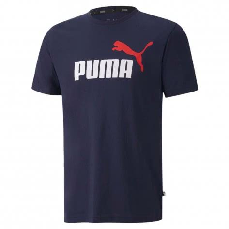 Puma Herren T-Shirt  ESS 2 Col Logo Tee 583714