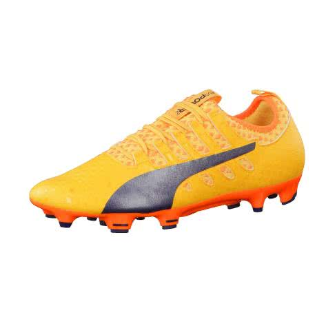 Puma Herren Fussballschuhe evoPOWER Vigor 2 FG 103954-04 41 Ultra Yellow-Peacoat-Orange Clown Fish | 41