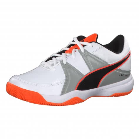 Puma Kinder Handballschuhe Explode 3 Jr 104877-02 31 Puma White-Quarry-Orange | 31