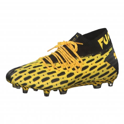 Puma Herren Fussballschuhe Future 5.1 Netfit FG/AG 105755-03 44 Ultra Yellow-Puma Black | 44