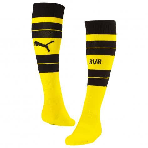 Puma Herren Borussia Dortmund Stutzen BVB Hooped Socks 2016/17 749815-01 47-49 cyber yellow-black | 47-49