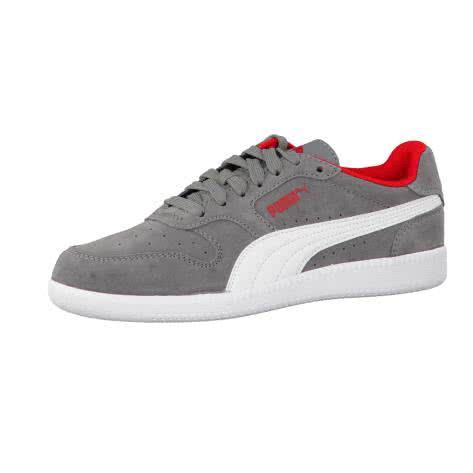 Puma Jungen Sneaker Icra Trainer SD Jr 358885 Steel Gray Puma White Größe 37,37.5,38.5,39