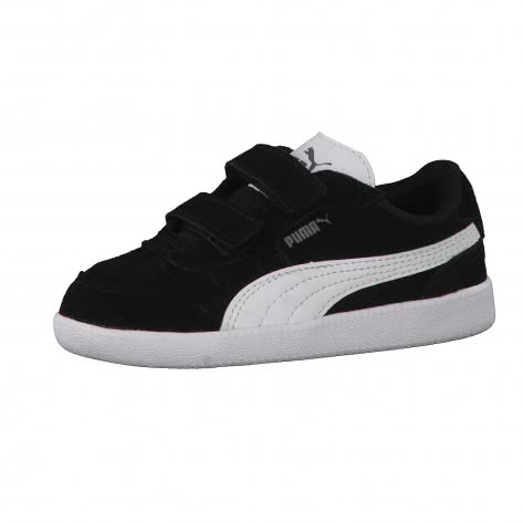 Puma Kinder Schuhe Icra Trainer SD V Kids 358883-07 20 black-white | 20