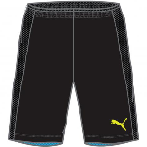 Puma Kinder Short IT evoTRG Kids Shorts 654949 black atomic blue Größe 152,176