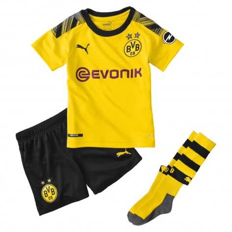 Puma Kinder Borussia Dortmund BVB Home Minikit 2019/20 755740