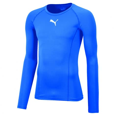 Puma Kinder Kompressionsshirt Liga Baselayer Tee LS Jr 655921