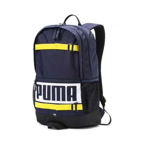 Puma Unisex Rucksack Deck Backpack 074706-17 One size Peacoat2 | One size