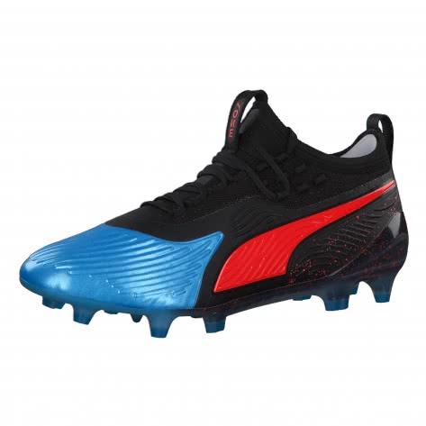 Puma Herren Fussballschuhe PUMA ONE 19.1 Syn FG/AG 105481-01 41 Bleu Azur-Red Blast-Puma Black | 41