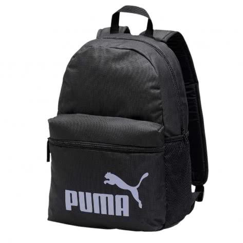 Puma Unisex Rucksack Phase Backpack 075487-23 One Size Puma Black-Sweet Lavender | One size