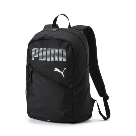 Puma Unisex Rucksack Plus Backpack 075483-01 One size Puma Black | One size