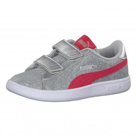 Puma Mädchen Sneaker Smash v2 Glitz Glam V PS 367378