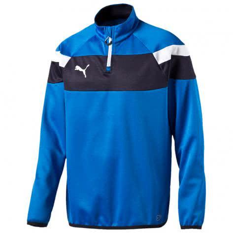 Puma Kinder Sweatshirt Spirit II 1 4 Zip Training Top 654657 puma royal white Größe 140,152,164,176