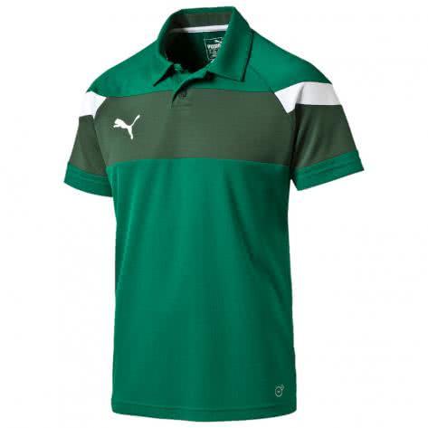 Puma Kinder Polo Shirt Spirit II Polo 654660 power green white Größe 116,152