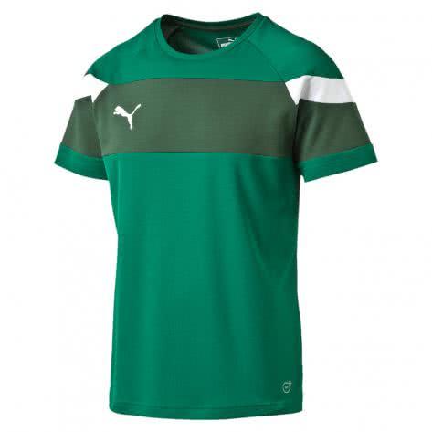 Puma Kinder Trainingsshirt Spirit II Training Jersey 654655 power green white Größe 128,140,152,164,176