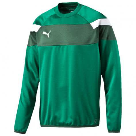 Puma Kinder Sweatshirt Spirit II Training Sweat 654656 power green white Größe 164