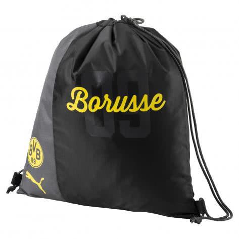 Puma Turnbeutel BVB Borussia Dortmund Gym Sack 074935 Cyber Yellow-Puma Black Größe: One size