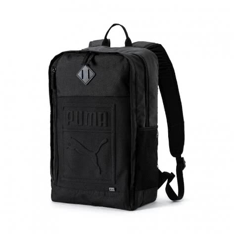 Puma Unisex Rucksack S Backpack 075581-01 One size Puma Black | One size