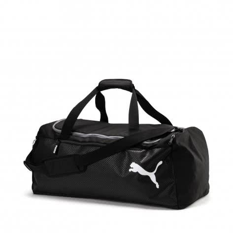 945676c1fe9d9 Puma Unisex Sporttasche Fundamentals Sports Bag M 075528-01 One size Puma  Black
