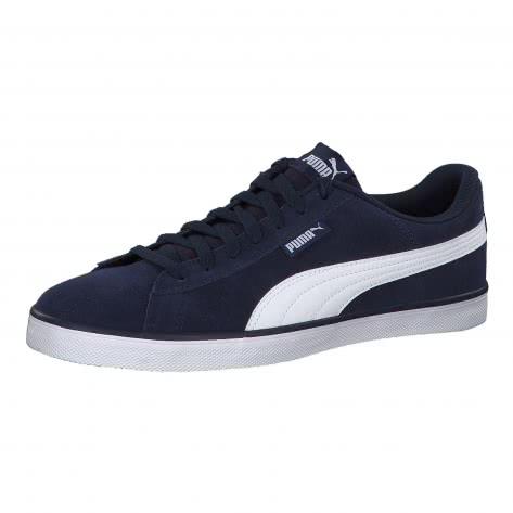Puma Unisex Sneaker Urban Plus SD 365259-03 41 Peacoat-Puma White | 41