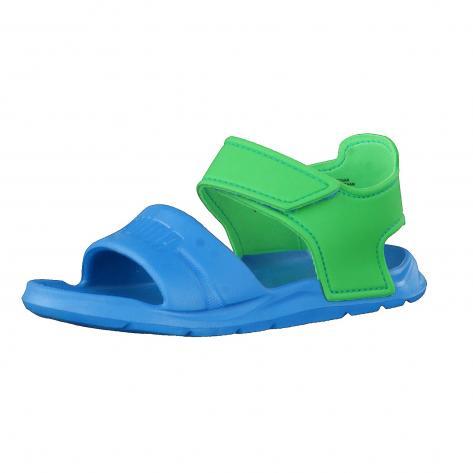 Puma Kinder Sandale Wild Sandal Injex Inf 362607 BLUE DANUBE ANDEAN TOUCAN Größe 27