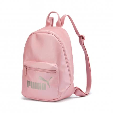 Puma Damen Rucksack Core Up Archive Backpack 076577-04 Bridal Rose-Metallic | One size