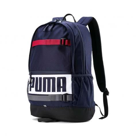 Puma Unisex Rucksack Deck Backpack 074706-24 One size Peacoat3 | One size