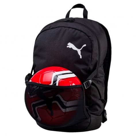 Puma Rucksack Pro Training II Backpack with Ball Net 074902-01 One size Puma Black | One size