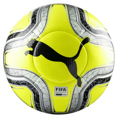 Puma Fussball FINAL 1 Statement 082895-02 5 Lemon Tonic-Silver-Puma Black | 5