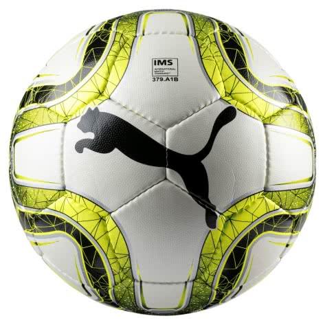 Puma Fussball FINAL 4 Club (IMS Appr) 082905-01 5 Puma White-Lemon Tonic-Puma Black | 5
