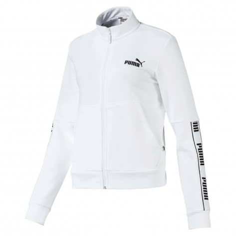 Puma Damen Sweatjacke Amplified FZ Jacket TR 580472-02 XL Puma White | XL