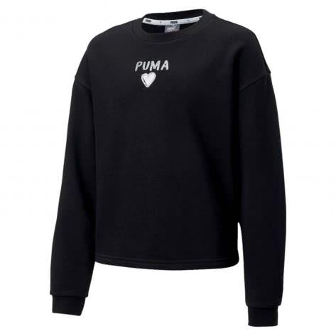 Puma Mädchen Pullover Alpha Crew Sweat 581364