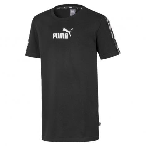 Puma Jungen T-Shirt Amplified Tee B 582550-01 140 Puma Black | 140