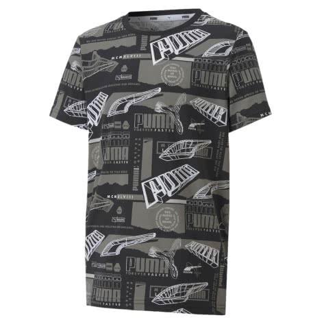Puma Jungen T-Shirt Alpha AOP Tee B 583190