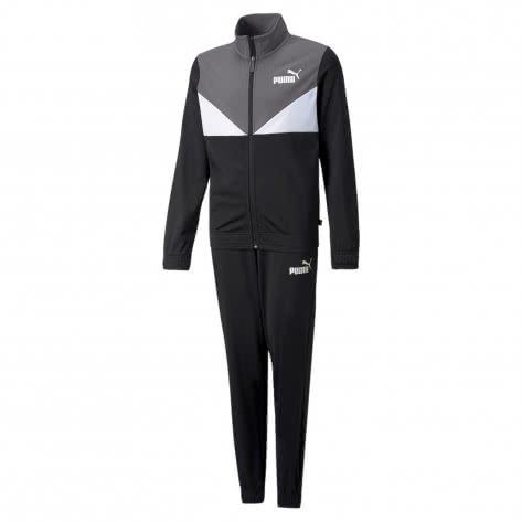 Puma Jungen Trainingsanzug Colorblock Poly Suit 589372