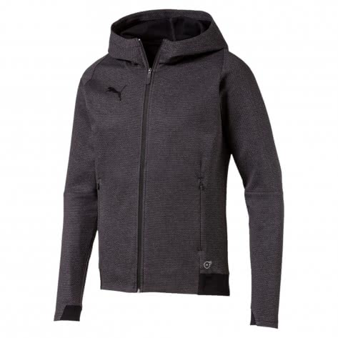 Puma Herren Sweatjacke Final Casuals Hooded Jacket 655294-33 XL Dark Gray Heather | XL